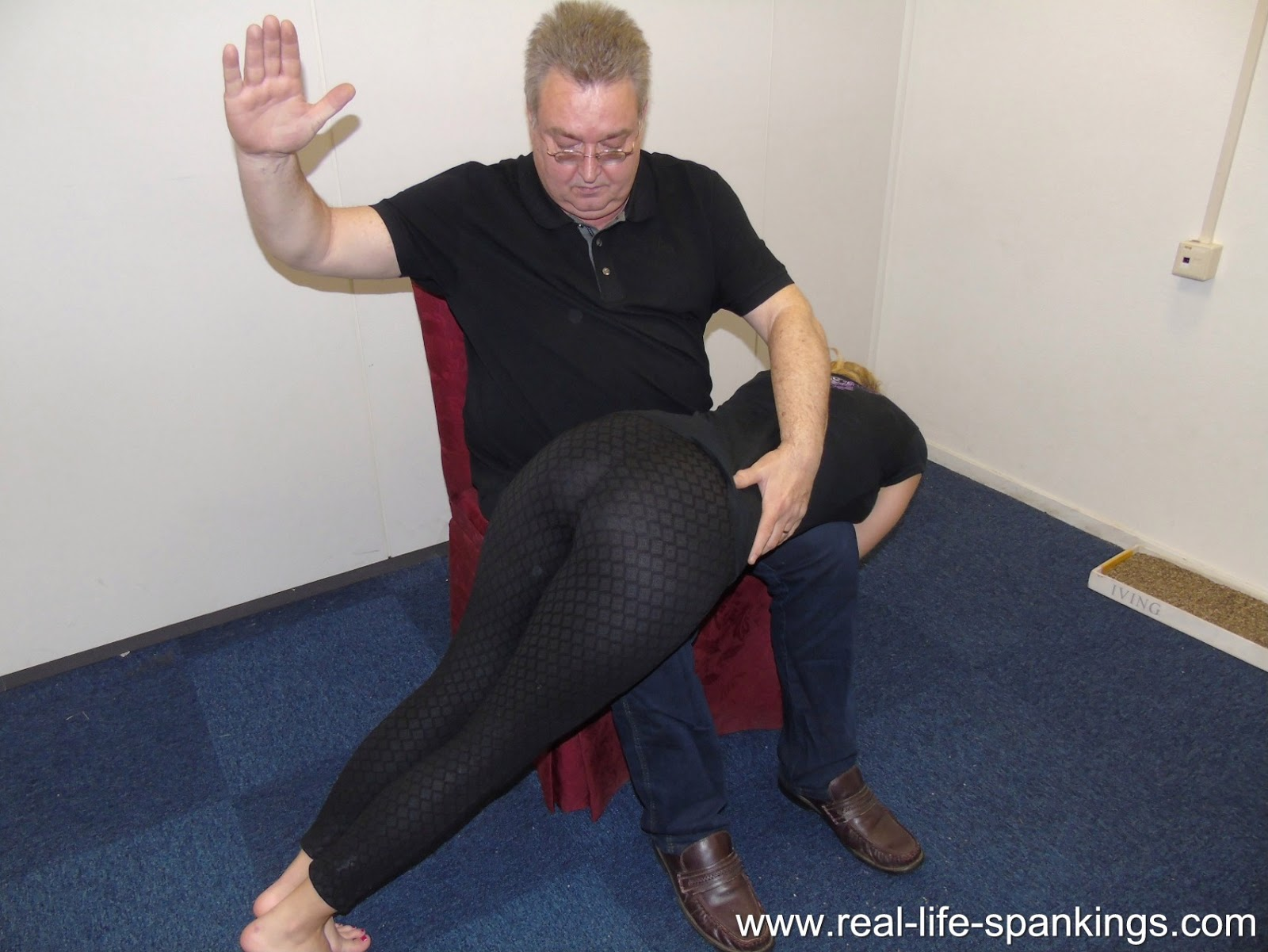 spanked with a hairbrush