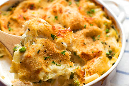 Garlic Parmesan Chicken Lasagna Bake Recipe