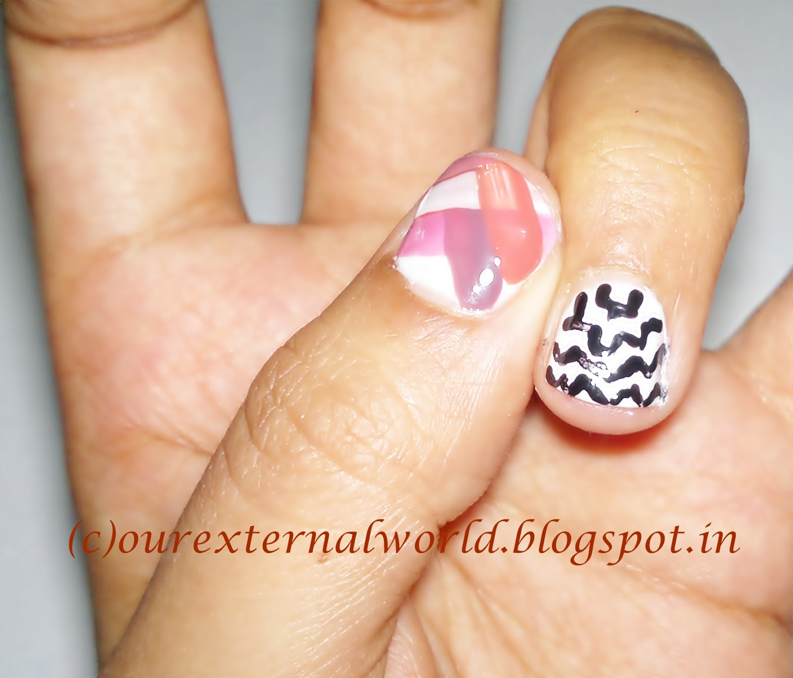 Girly Nail Art