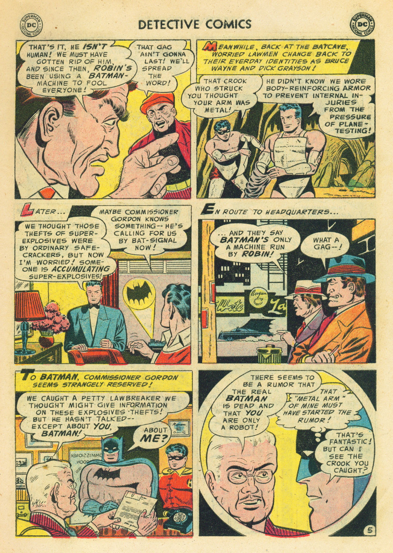Detective Comics (1937) 224 Page 6