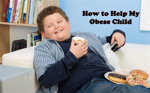 How to Help My Obese Child, childhood obesity, weight loss