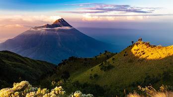Volcano, Java Island, Nature, Landscape, Scenery, 4K, #179