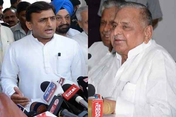 bad-news-for-akhilesh-yadav-mulayam-not-revoked-his-suspension