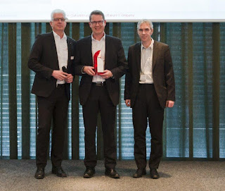 Ralf Beck und Stefan Hensel (Top Seller 2017:  Bechtle Logistic und Service GmbH)