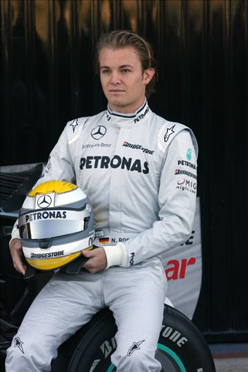 All About Sports: Nico Rosberg Germany Formula 1 Player 2012