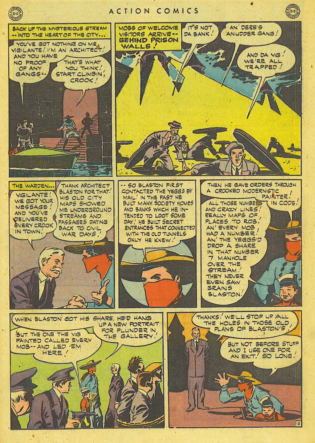 Read online Action Comics (1938) comic -  Issue #78 - 28