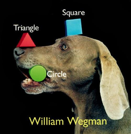 Artist William Wegman and his Weimaraner muses