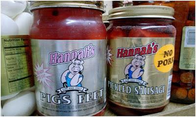 Contoh makanan kemasan mengandung babi