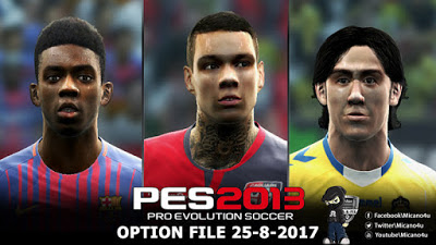 Patch Transfer PES 2013 Terbaru September 2017