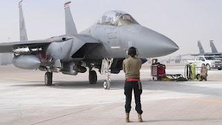Jet Tempur F-15E Angkatan Udara Amerika Serikat