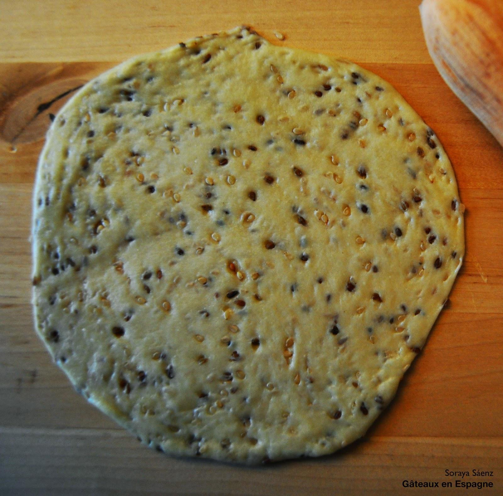 biscuits sesame anis vert