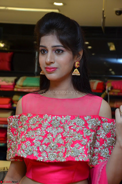 Naziya Khan bfabulous in Pink ghagra Choli at Splurge   Divalicious curtain raiser ~ Exclusive Celebrities Galleries 002.JPG