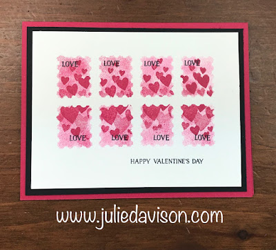 VIDEO: Simple Stamping Sponging Techniques ~ Forever Lovely Valentine's Day Card ~ Stampin' Up! 2019 Occasions Catalog ~ www.juliedavison.com