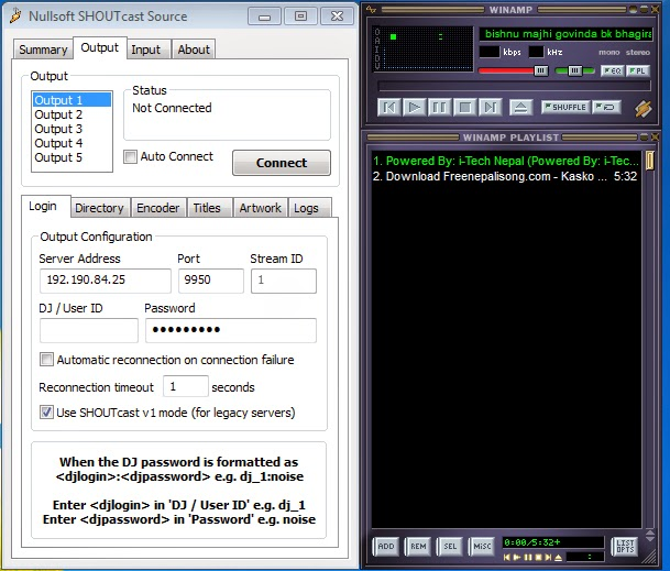 shoutcast radio dsp plug-in