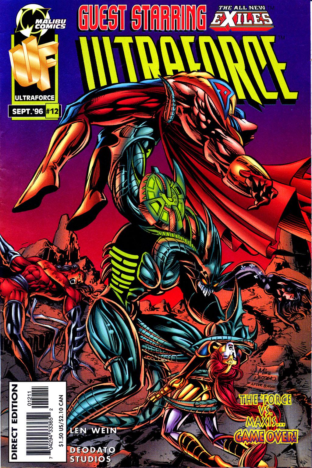 Read online UltraForce (1995) comic -  Issue #12 - 1