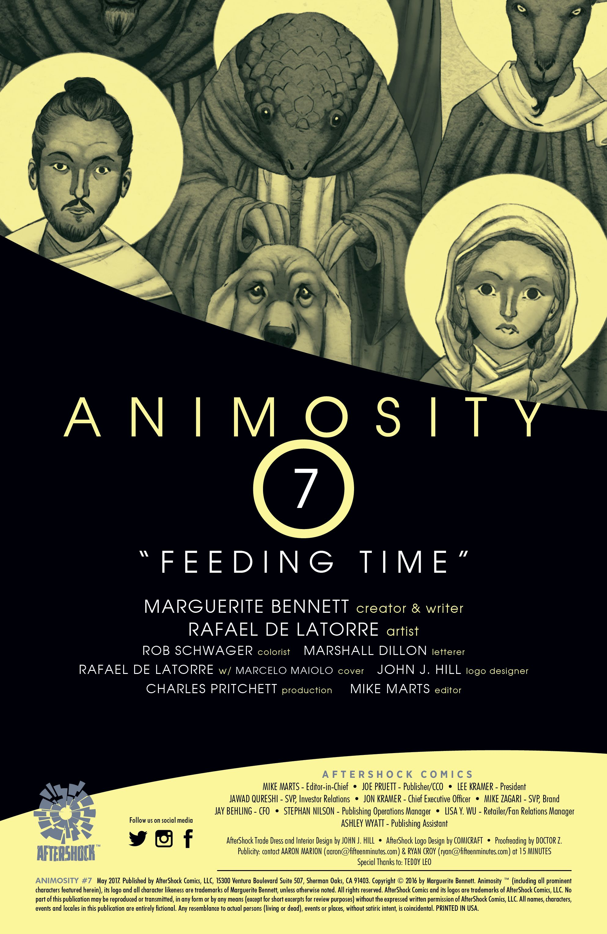 Read online Animosity comic -  Issue #7 - 2