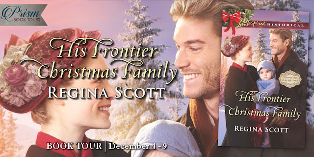 His Frontier Christmas Family by Regina Scott – Grande Finale and giveaway
