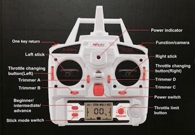 Spesifikasi MJX X400 Drone FPV Ready - GudangDrone