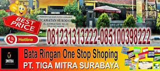 informasi dan pemesanan bata ringan di Kecamatan Sukodono Sidoarjo