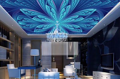 artistic 3D false ceiling designs for living rooms 2018