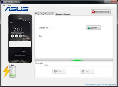 Download Asus Zenfone Flash Tool v2.0.1 Terbaru
