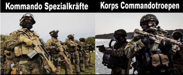 الجيش العسكري لفرنسا والجيش العسكري لألمانيا