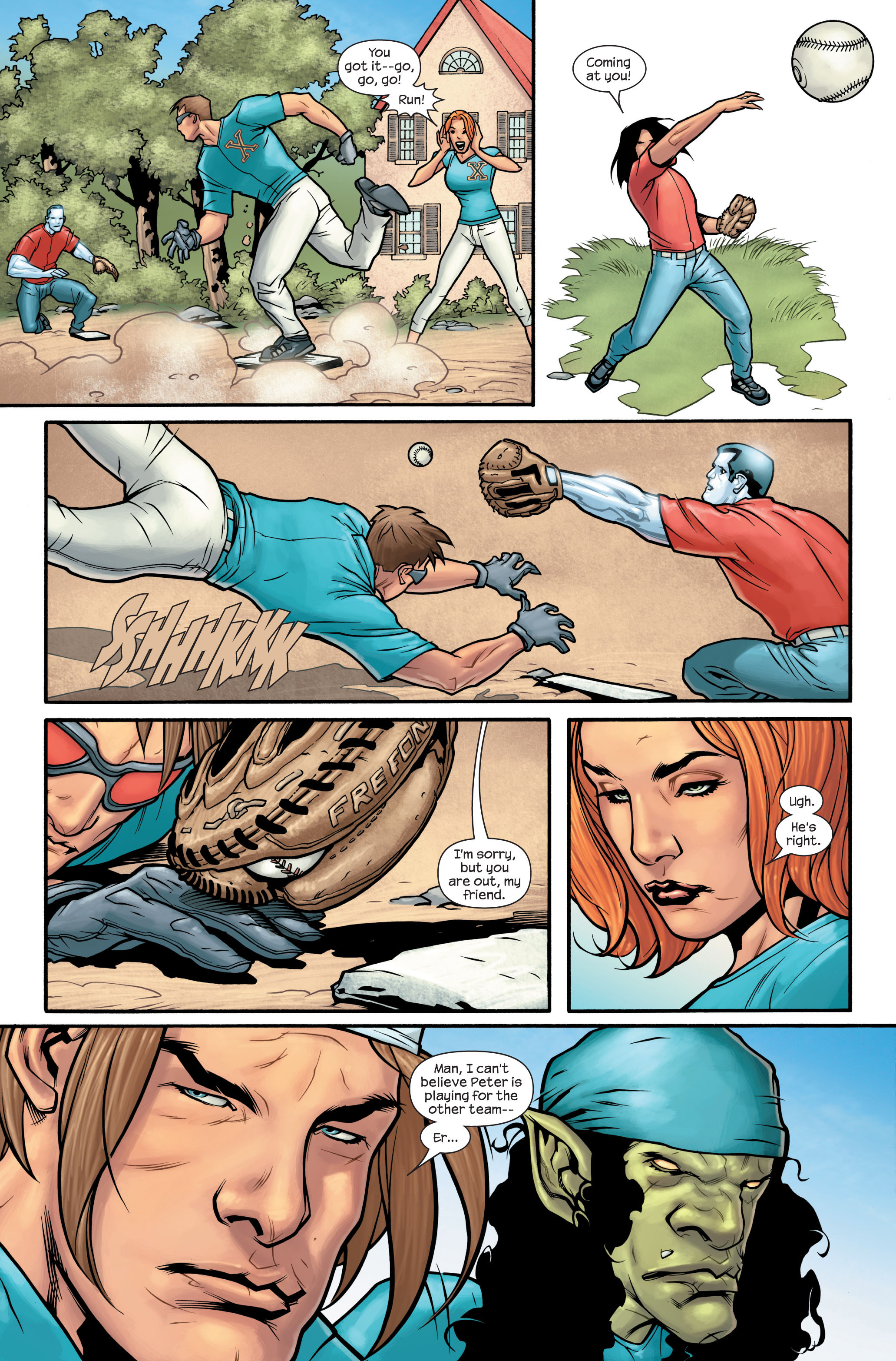 Read online Ultimate X-Men comic -  Issue #88 - 9