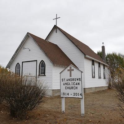 church, historical, Tompkins, Saskatchewan