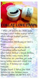 Coklat love habibi JSD