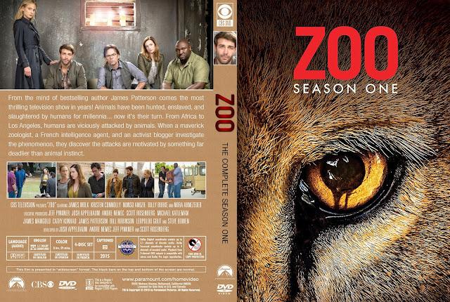 Zoo Season 1 DVD Cover
