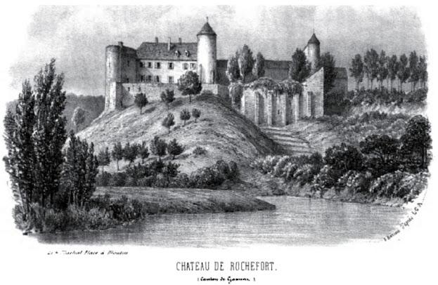 patrimoine de l'Allier château de Rochefort