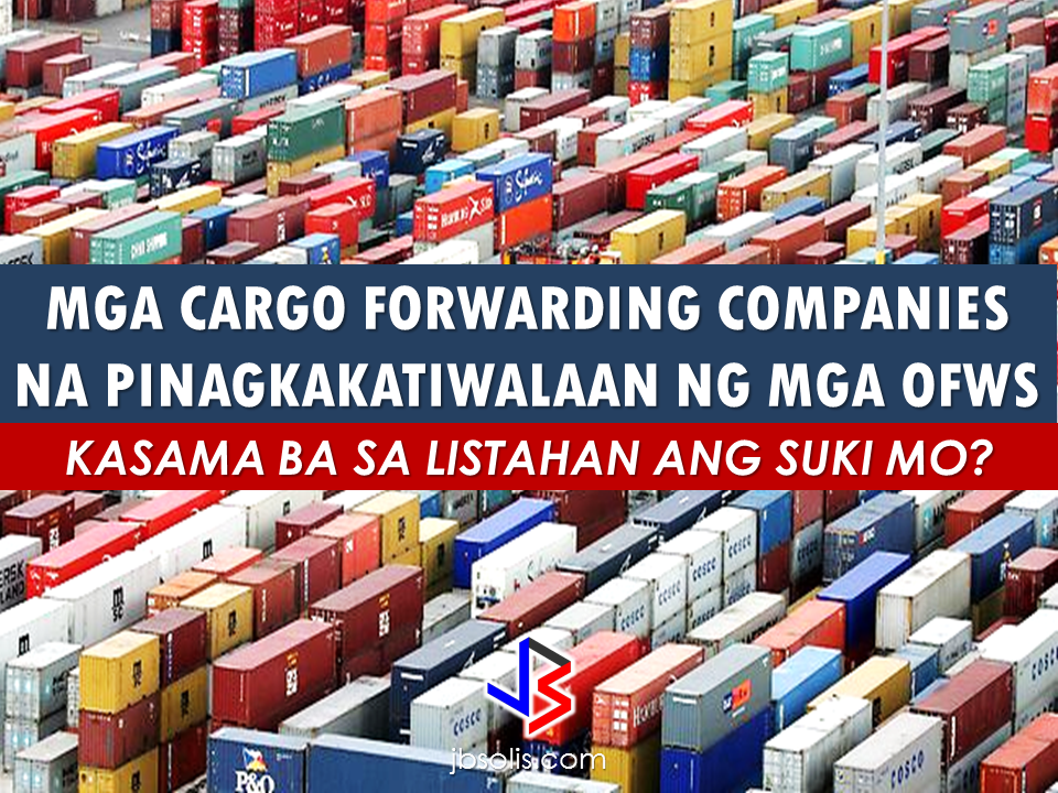 "For every OFWs, the ""balikbayan box"" is very sacred and important because it represents the sender itself. It is their way to make up for the days that they wish to come home to their families but they couldn't. Before an OFW can send the box ,they spend a lot of time trying to fill it up. Waiting for every sale where they can save a lot in buying bulk items. Skipping meals and snacks to save every single penny to be used in buying goods that their loved ones has requested during their chats. A new pair shoes for bro, a nice cozy bag for sis, a set of  toiletries for the in-laws or a lot of bath soap for the relatives. They usually send these boxes a few months before the holiday season.  The box is finally packed and ready. The only factor that could determine whether these boxes will be home safely is by choosing a right cargo forwarding company because if you entrusted it to the cargo companies which licenses are either expired, cancelled or worse, belong to the blacklisted cargo companies, it might never reach home and your sacrifices will come to waste.  We conducted a quick survey and ask the Overseas Filipino Workers about their most trusted  cargo forwarding companies.  *Note: All of the cargo companies listed in here are from the opinion of various OFWs located in different parts of he world. We do not endorse any cargo companies and you can send your balikbayan boxes to them at your own risk. We recommend that you deal only with licensed and DTI accredited cargo forwarders only. To make sure that you are sending your cargos to accredited cargo companies approved by the DTI, you may refer to this LIST. ""Advertisements"" Here are the list of the OFWs most trusted cargo forwarders:  AMAZING SPEED -HONG KONG   A FREIGHT- HONGKONG   ASIAN DRAGON DOOR TO DOOR CARGO  CARAVAN CARGO   CONOR   EEC MANILA CARGO   FLOMIC -ABU DHABI   FRICO -DUBAI   FOREX BAHRAIN   FEDEX   FALCON CARGO KUWAIT   FILEX CARGO   GOLDWINGS EXPRESS CARGO  GP EXPRESS   GOLDEN BIRD  GENEX –HONGKONG    LBC   LAGUNA LAKERS-KSA  MAKATI EXPRESS   iMEREX  MSM CARGO   PINAS CARGO  SKY FREIGHT-QATAR   SHAHER CARGO   SUPER ACE CARGO  TRICO   WESTERN EXPRESS CARGO    WORLDWIDE ELITE EXPRESS -HONG KONG  To remind you once again, you can double check the names of the following cargo forwarders  to make sure that they are accredited by the DTI and they do not belong to the blacklisted cargo forwarders.  Every contents of the balikbayan box embodies OFWs blood, sweat and tears and the only thing that can equal it are the genuine smiling faces of joy from our family as they open it, giving us the feeling that we are also home with them.  ""Sponsored Links"" Read More:  A female Overseas Filipino Worker (OFW) working in Saudi Arabia was killed by an unknown gunman in Cabatuan, Isabela on Sunday. The OFW is in the country to enjoy her vacation and to celebrate her bithday with her loved ones. The victim's mother, Betty Ordonez, said that Jenny Constantino, 29, arrived in the country from Saudi Arabia for a vacation.         China's plans to hire Filipino household workers to their five major cities including Beijing and Shanghai, was reported at a local newspaper Philippine Star. it could be a big break for the household workers who are trying their luck in finding greener pastures by working overseas  China is offering up to P100,000  a month, or about HK$15,000. The existing minimum allowable wage for a foreign domestic helper in Hong Kong is  around HK$4,310 per month.  Dominador Say, undersecretary of the Department of Labor and Employment (DOLE), said that talks are underway with Chinese embassy officials on this possibility. China's five major cities, including Beijing, Shanghai and Xiamen will soon be the haven for Filipino domestic workers who are seeking higher income.  DOLE is expected to have further negotiations on the launch date with a delegation from China in September.   according to Usec Say, Chinese employers favor Filipino domestic workers for their English proficiency, which allows them to teach their employers' children.    Chinese embassy officials also mentioned that improving ties with the leadership of President Rodrigo Duterte has paved the way for the new policy to materialize.  There is presently a strict work visa system for foreign workers who want to enter mainland China. But according Usec. Say, China is serious about the proposal.   Philippine Labor Secretary Silvestre Bello said an estimated 200,000 Filipino domestic helpers are  presently working illegally in China. With a great demand for skilled domestic workers, Filipino OFWs would have an option to apply using legal processes on their desired higher salary for their sector. Source: ejinsight.com, PhilStar Read More:  The effectivity of the Nationwide Smoking Ban or  E.O. 26 (Providing for the Establishment of Smoke-free Environment in Public and Enclosed Places) started today, July 23, but only a few seems to be aware of it.  President Rodrigo Duterte signed the Executive Order 26 with the citizens health in mind. Presidential Spokesperson Ernesto Abella said the executive order is a milestone where the government prioritize public health protection.    The smoking ban includes smoking in places such as  schools, universities and colleges, playgrounds, restaurants and food preparation areas, basketball courts, stairwells, health centers, clinics, public and private hospitals, hotels, malls, elevators, taxis, buses, public utility jeepneys, ships, tricycles, trains, airplanes, and  gas stations which are prone to combustion. The Department of Health  urges all the establishments to post ""no smoking"" signs in compliance with the new executive order. They also appeal to the public to report any violation against the nationwide ban on smoking in public places.   Read More:          ©2017 THOUGHTSKOTO www.jbsolis.com SEARCH JBSOLIS, TYPE KEYWORDS and TITLE OF ARTICLE at the box below Smoking is only allowed in designated smoking areas to be provided by the owner of the establishment. Smoking in private vehicles parked in public areas is also prohibited. What Do You Need To know About The Nationwide Smoking Ban Violators will be fined P500 to P10,000, depending on their number of offenses, while owners of establishments caught violating the EO will face a fine of P5,000 or imprisonment of not more than 30 days. The Department of Health  urges all the establishments to post ""no smoking"" signs in compliance with the new executive order. They also appeal to the public to report any violation against the nationwide ban on smoking in public places.          ©2017 THOUGHTSKOTO Dominador Say, undersecretary of the Department of Labor and Employment (DOLE), said that talks are underway with Chinese embassy officials on this possibility. China's five major cities, including Beijing, Shanghai and Xiamen will soon be the destination for Filipino domestic workers who are seeking higher income. ©2017 THOUGHTSKOTO"