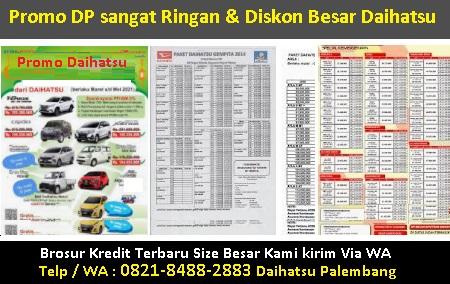Harga kredit dahatsu rocky palembang brosur mobil