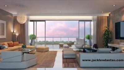 decorar sala apartamento Jacklen Dantas
