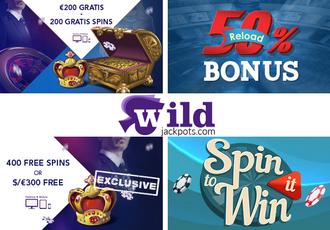Wild Jackpots Casino Screen