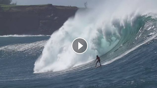 Motorized Surfboard JetSurf at JAWS