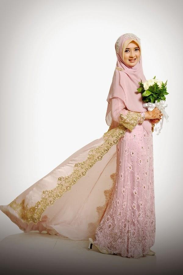 Trend Model Gaun Pengantin Muslimah Terbaru 2018 Jallosi