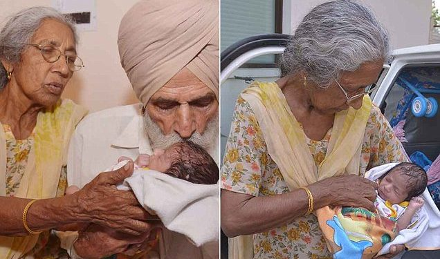 72-year-old Woman Gives Birth To Her First Child