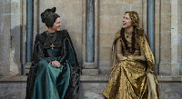 Michelle Fairley and Suki Waterhouse in The White Princess Series (16)