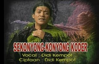 Lirik Lagu Sekonyong Konyong Koder - Didi Kempot