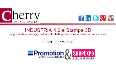Industria 4.0 e Stampa 3D a Shop Expo 2017