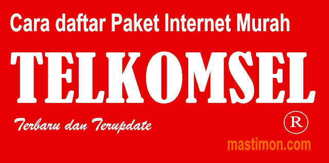 Cara daftar Paket Internet Murah Telkomsel Simpati dan AS terbaru