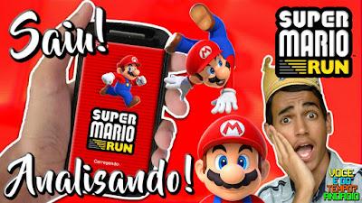Super Mário Run Lançamento Para Android