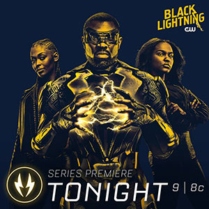 Photo du super héros Blacklightning