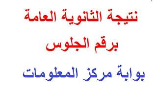طريقة معرفة نتيجة الثانوية العامة مصر 2016