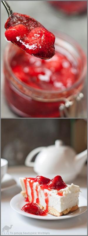 Frużelina truskawkowa na zimę bez żelatyny