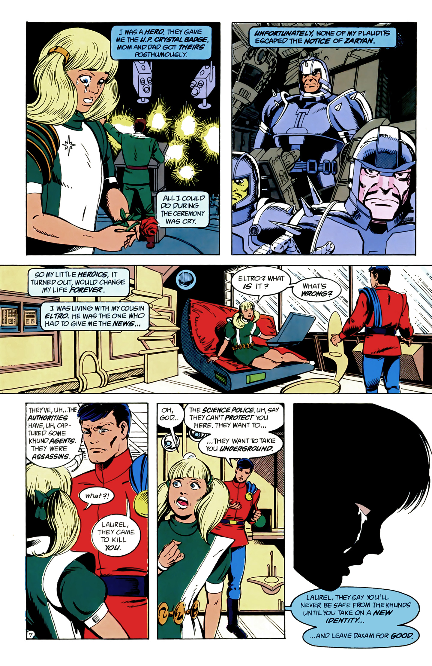 Legion of Super-Heroes (1989) 9 Page 7