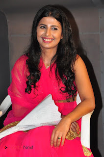 Actress Raj Shri Poonnappa Stills in Pink Dress at Mental Police Trailer Launch BollywoodGossip 0009.JPG