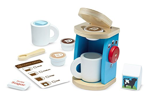 Melissa and Doug Coffee maker set