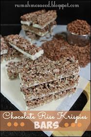 Welcome To Teawe S Blog Chocolate Rice Krispies Bars